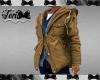 Khaki Jacket with Layers