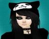 Black Licorice Emo Cat