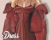 I│Silk Dress Rust RLL
