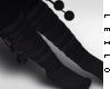 ! L! Erin Black Socks