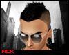 [NCK]Black Electro Hair