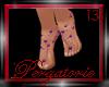 (P) Foot Pearls Purple