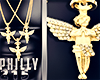 Pғ|Tri |Angels Necklace