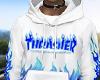 THRASHER HOODIE. v2