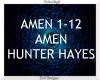 Amen ~ Hunter Hayes