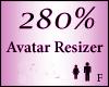 Avatar Resize Scaler 280