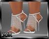 *JK* Silver Chain Heels