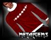 CEM Red Winter Sweater