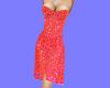 !BD Red Sparkling Dress