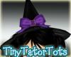 Black N Purple Witch Hat