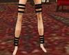 Black Leg Cuffs