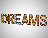 Dreams Marquee Letters