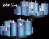 [B] Candles, Blue