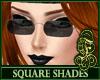 Square Shades Black