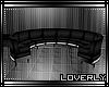 [Lo] Derv Round Sofa