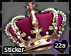 22a_Crown Sticker