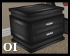 *OI* Black Nightstand