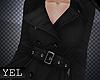 [Yel] Black coat