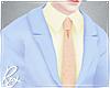 Periwinkle Pastel Suit