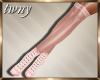 Punked Princess Boot Pin