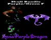 Skull Set Purple/Green-F
