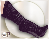 Black Denim Boots