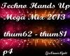 Techno Mega Mix 4/18