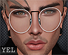 [Yel] B/G glasses M