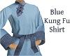 Blue Kung Fu Shirt