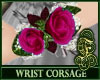 Wrist Corsage Fuchsia