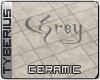 Grey ceramic floor