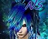 [NS]Ocean blue bangs