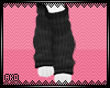 ;A; Gray Tiny Legwarmers