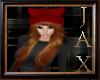 Santa Hat Golden Hair