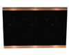 Copper Black Marble Wall