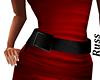 Black Dress Belt