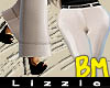 *L* BM Wide Legs {Cream}