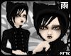 Black Gothic Lolita Hood
