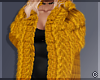 !© Chic Fur Coat Yellow