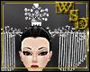 Empress White Bead Crown