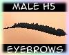 [Male H5] Black Eyebrows