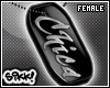 602 Chica Dog Tag F