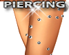 Upper Leg Piercing Studs