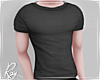 Charcoal Fitted Tee
