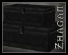 [Z] black  Travel Trunks