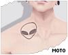 f Alien Tattoo