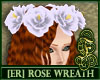 [ER] Rose Wreath Silver