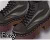 E! Olive Combat  Boots.