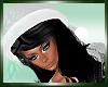 :)Santa Hat w/Hair Black