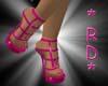 [RD]Fushia Sandal M